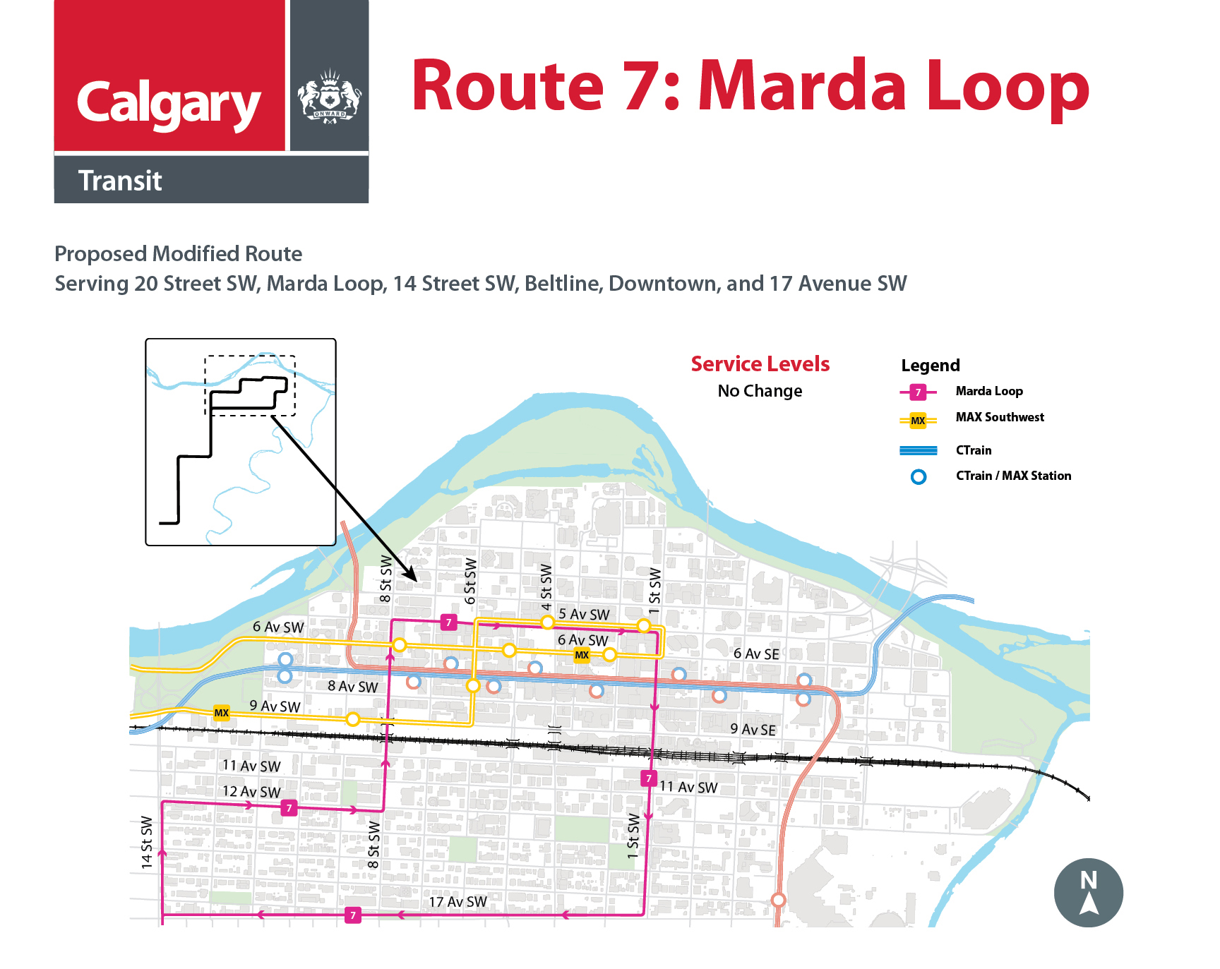 Proposed Changes to Route 7