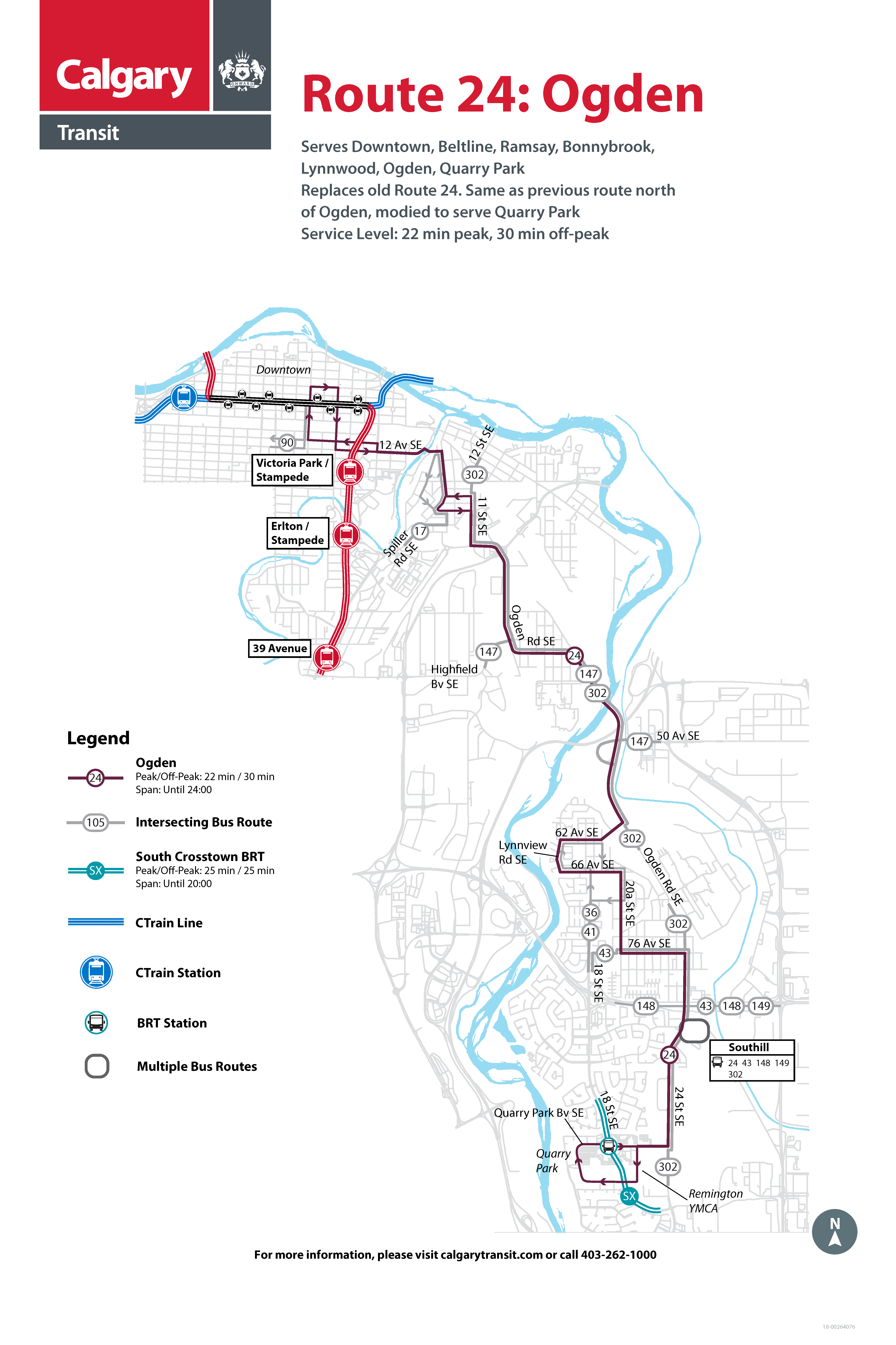 Route 24 map