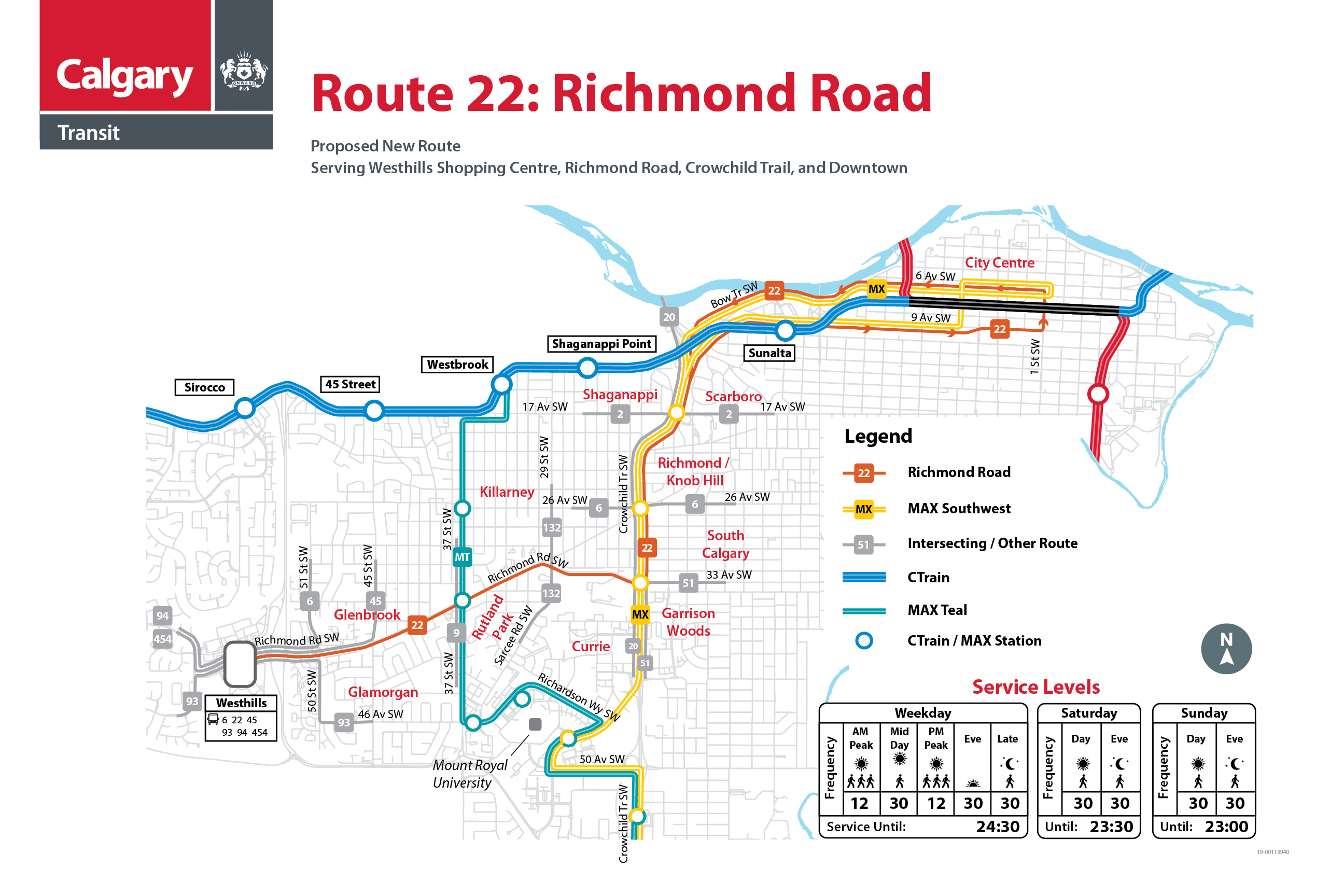 Proposed Changes to Route 22