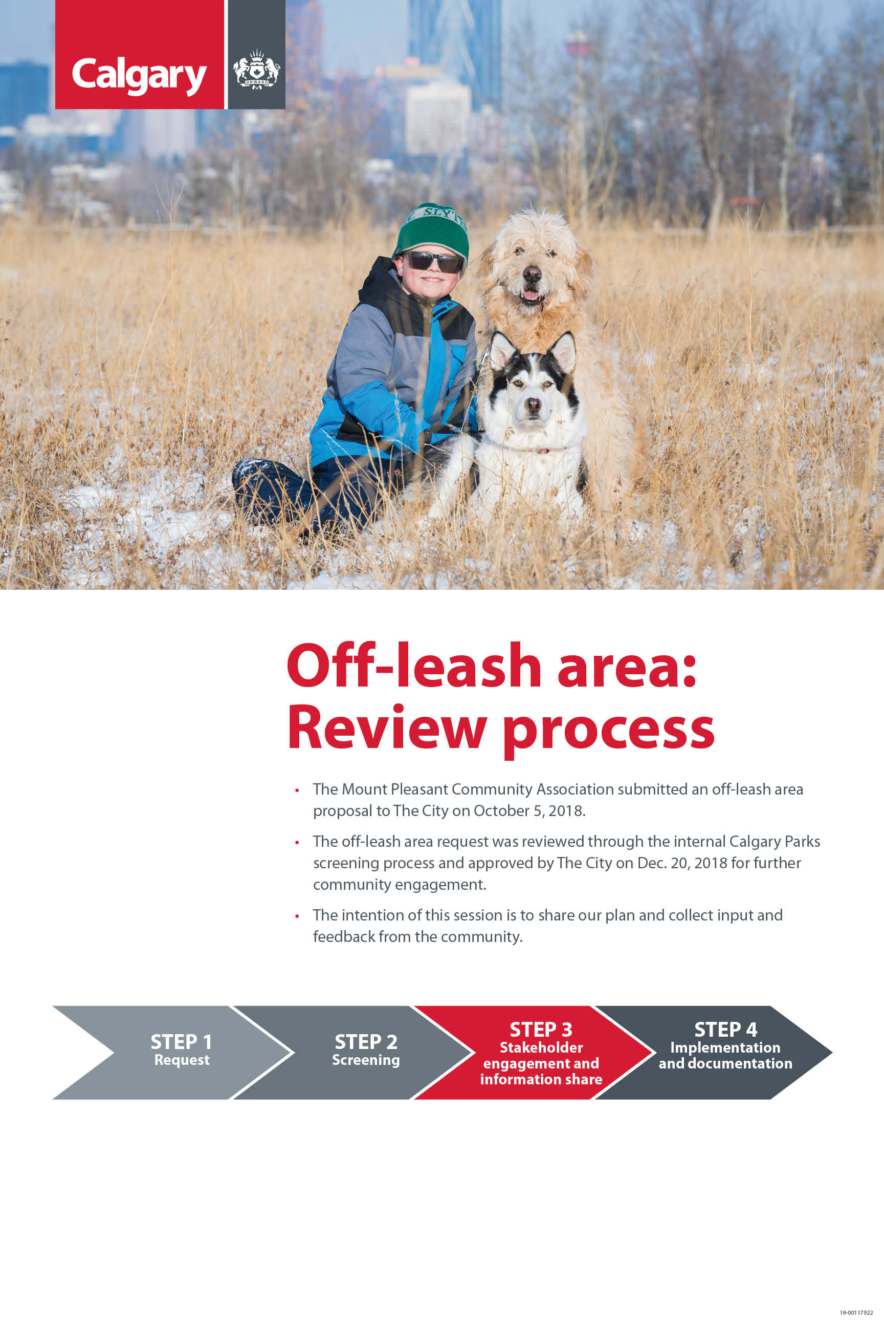 Off leash area process