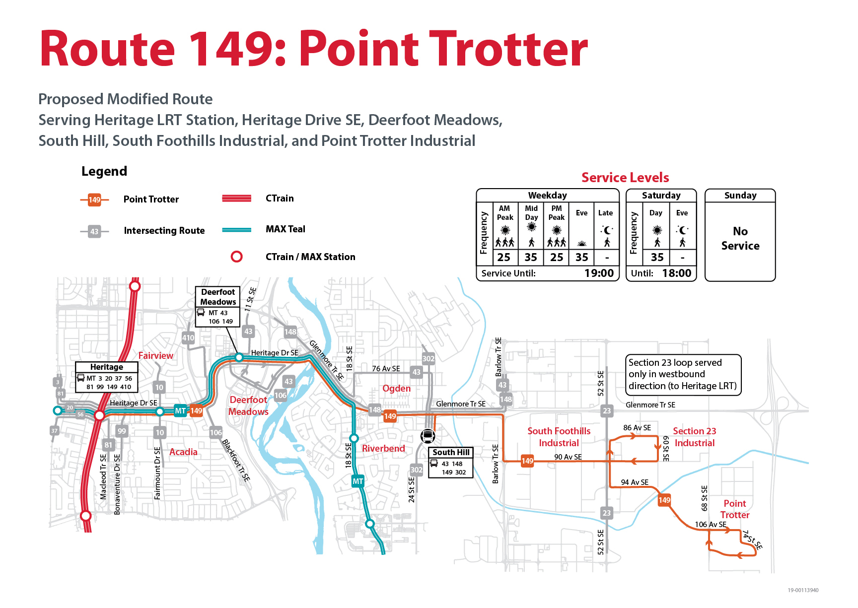Proposed Changes to Route 149