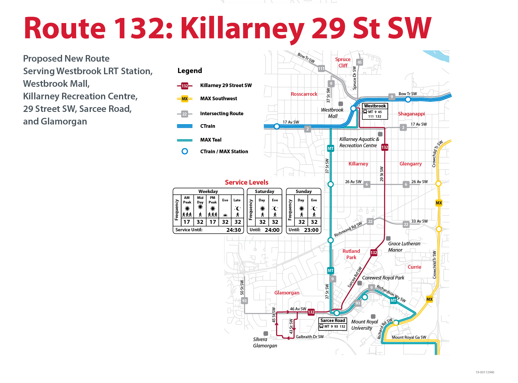 Proposed Changes to Route 132