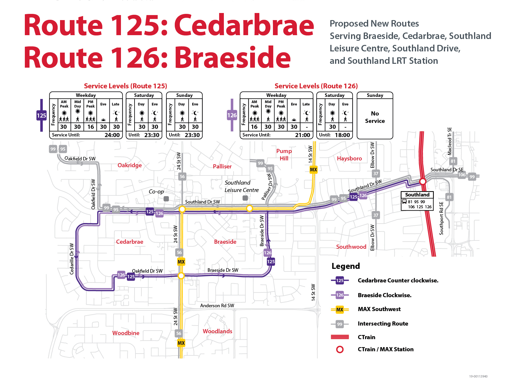 Proposed Changes to Route 125
