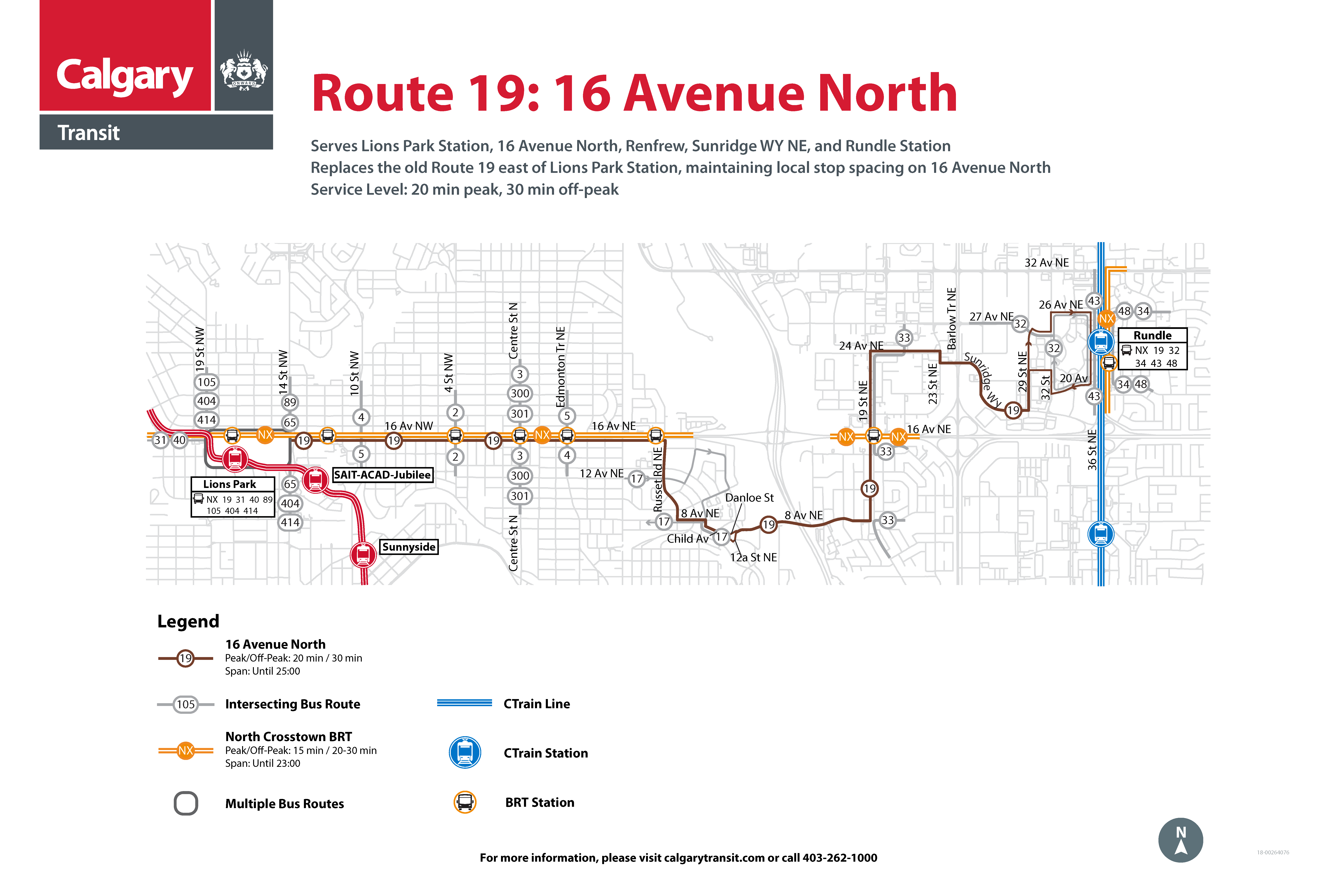 Route 19 Map