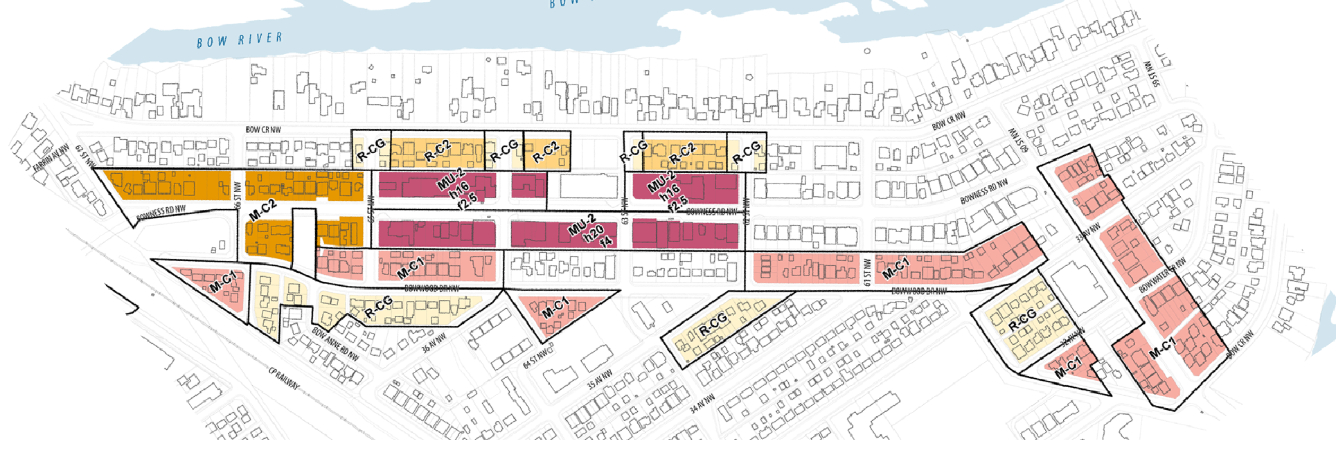 East Bowness Building Blocks Map