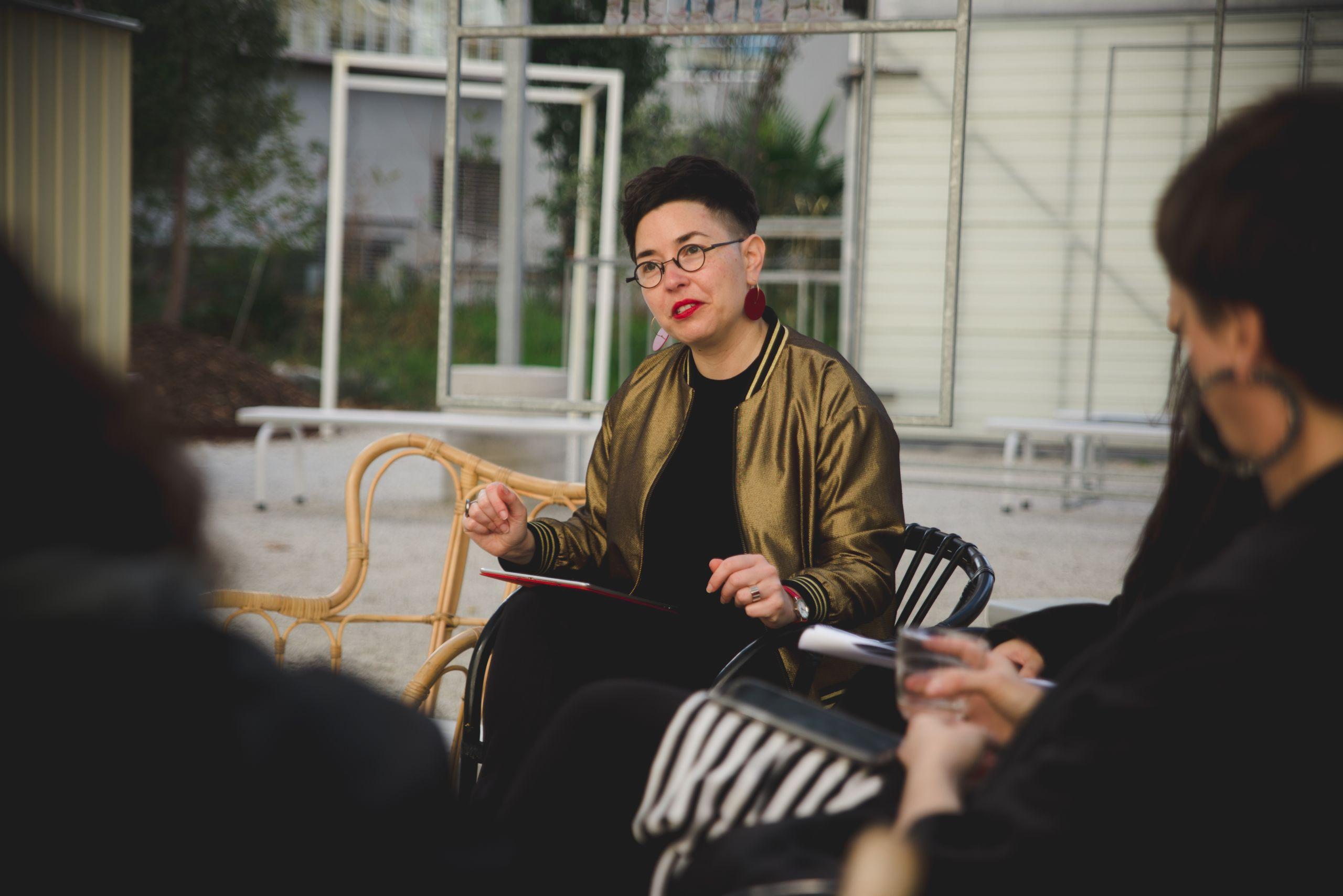 Esther Anatolitis, speaker