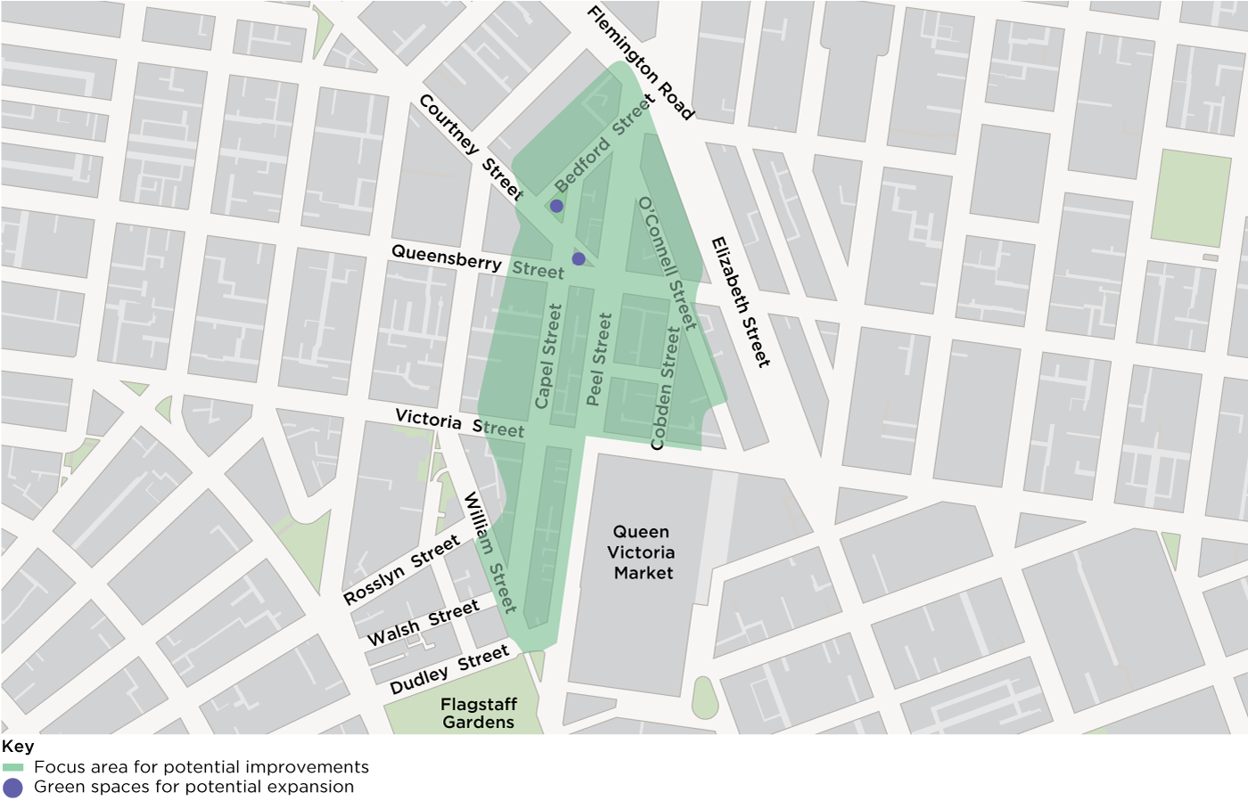 map of focus area