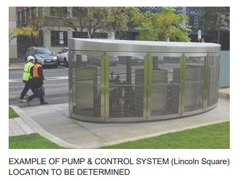 Example of a pump control system