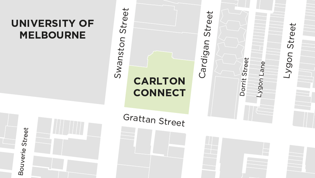 Carlton Connect Map