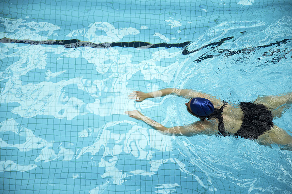 There's a 25-metre lap pool and learn-to-swim pools, a sports stadium and community spaces for hire.