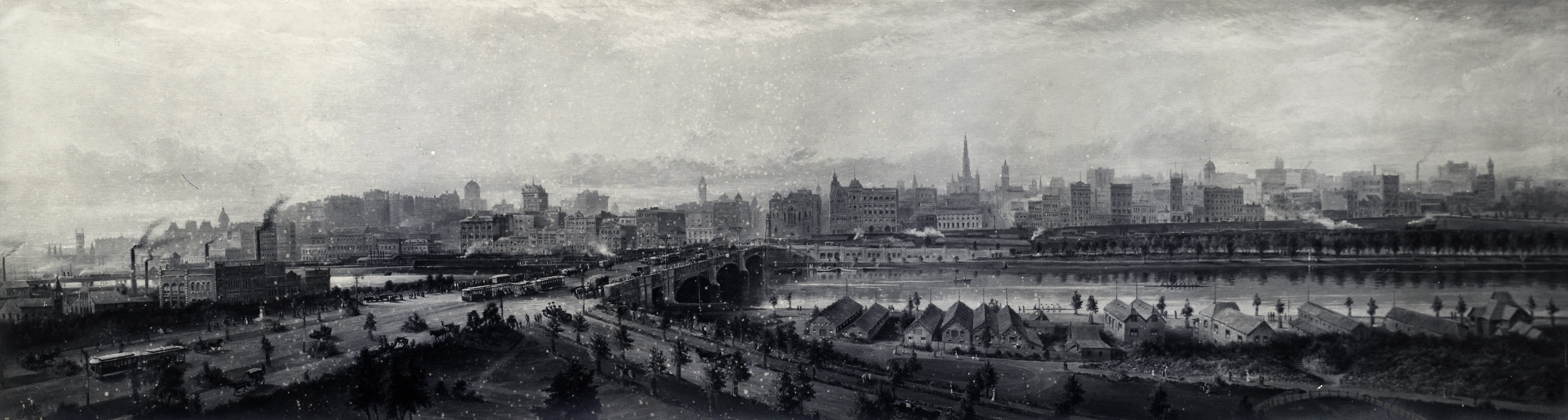 ​Early view of Southbank