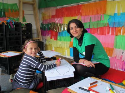 Engaging with children through drawing