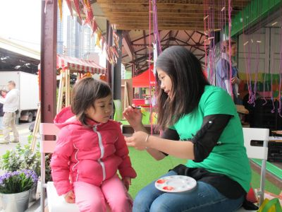 Face painting activities