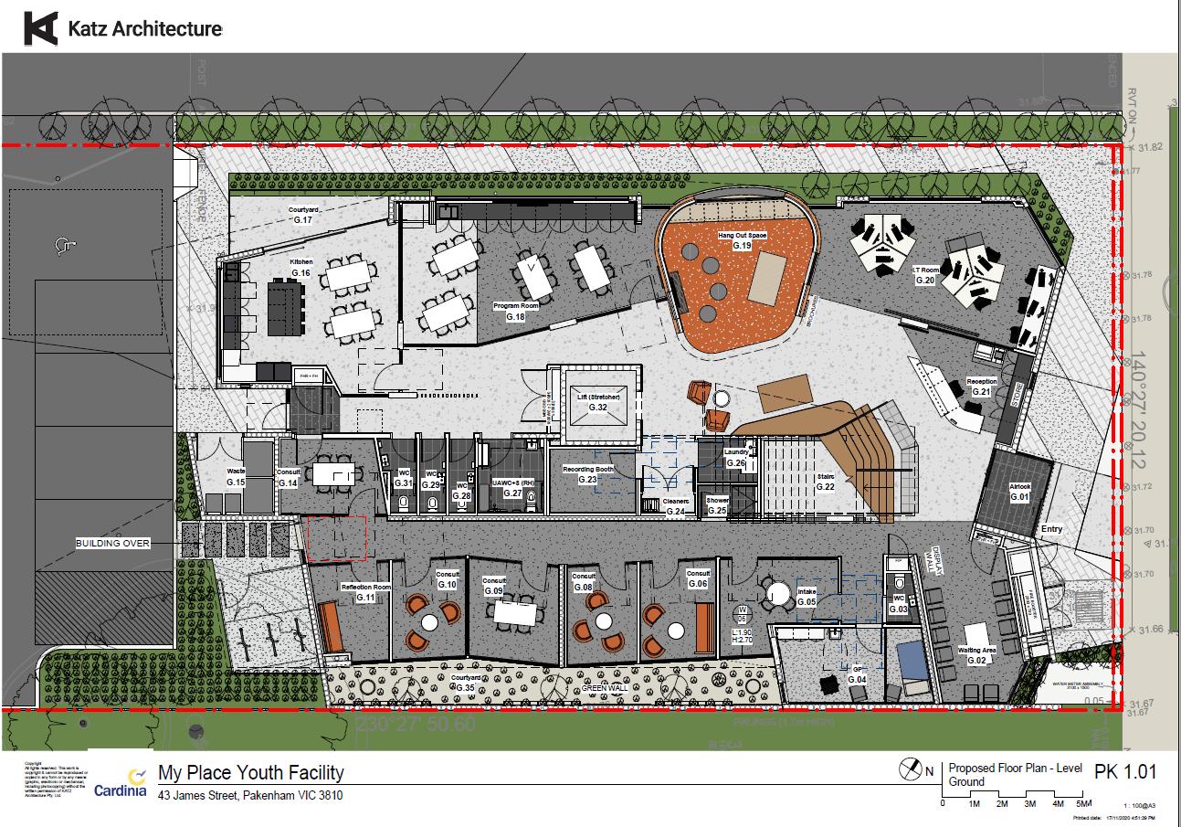 Floor plan of ground floor