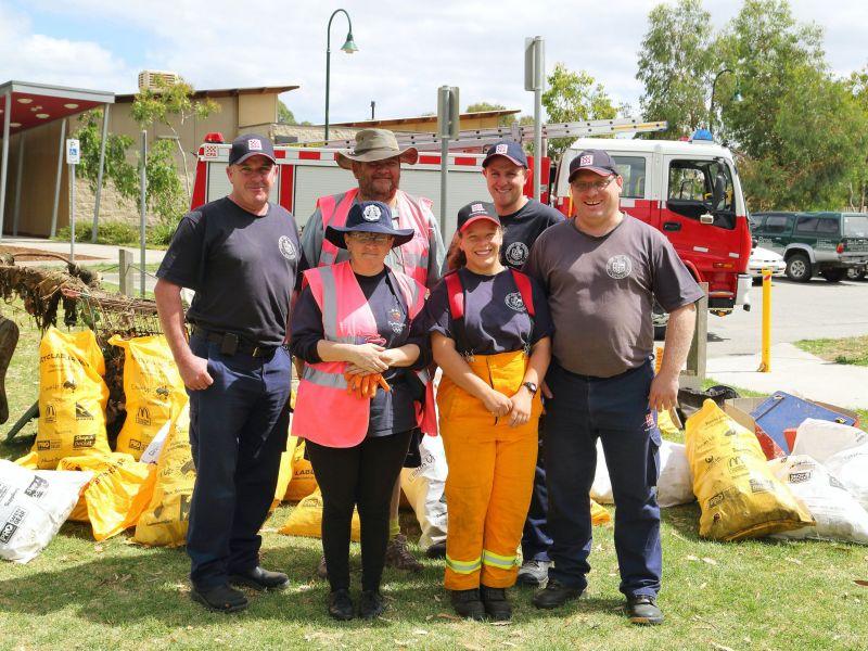 CFA volunteers