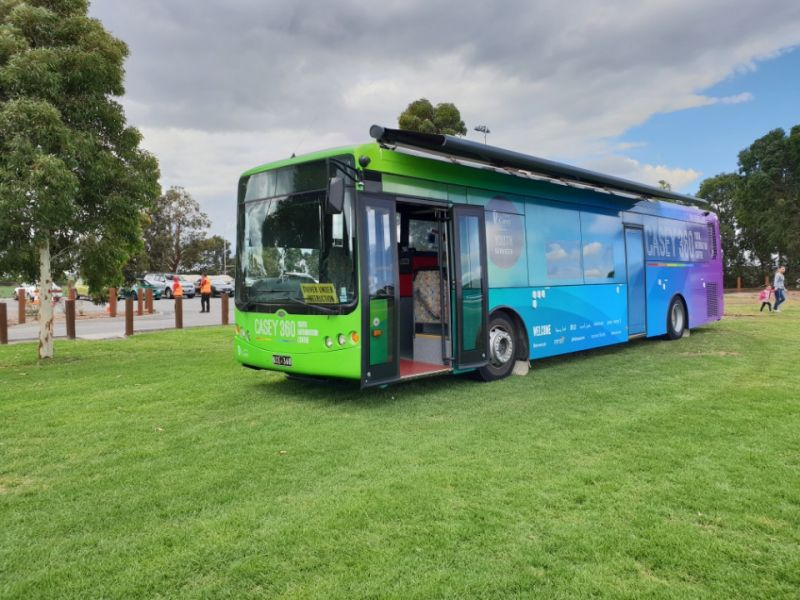 Casey 360 Mobile Youth Information Centre