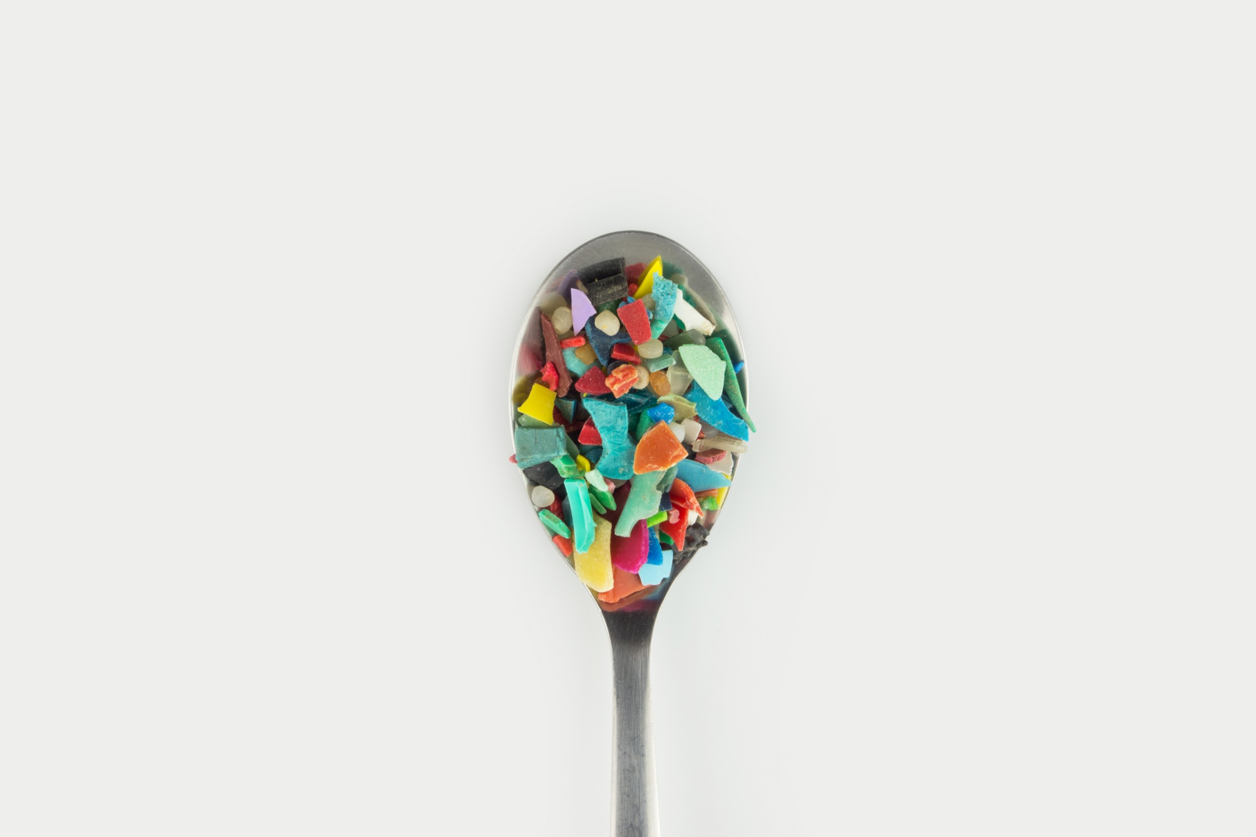 Teaspoon of micro plastics