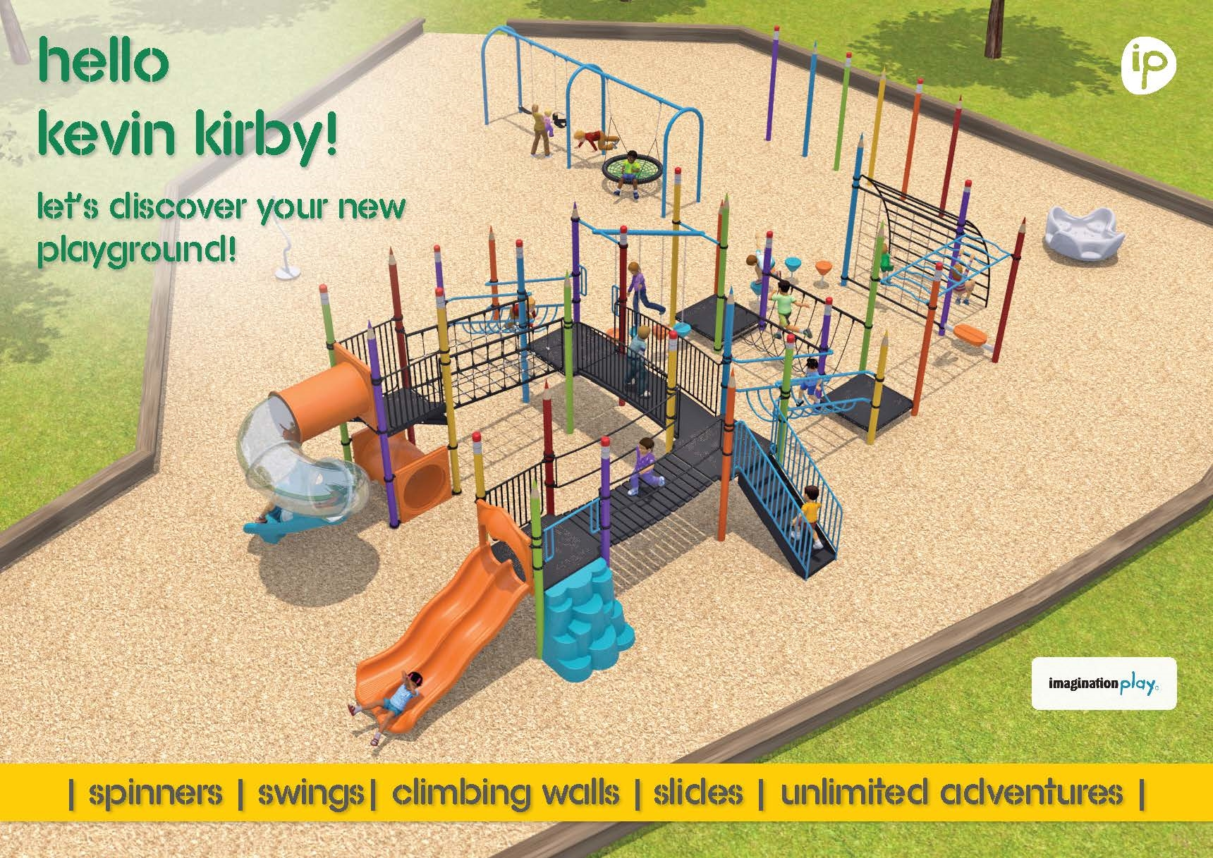 Kevin Kirby Reserve - proposed playground design