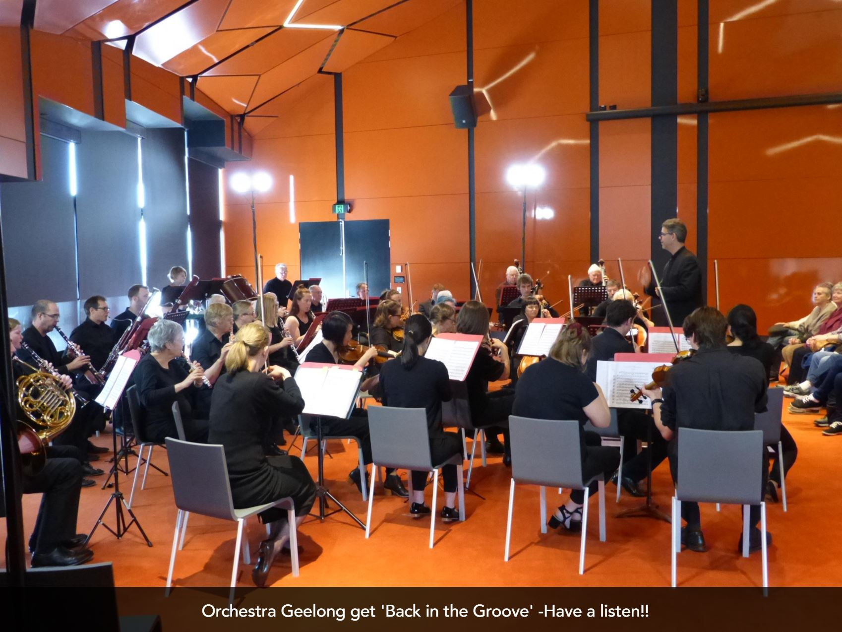 Geelong Orchestra - Back in the Groove