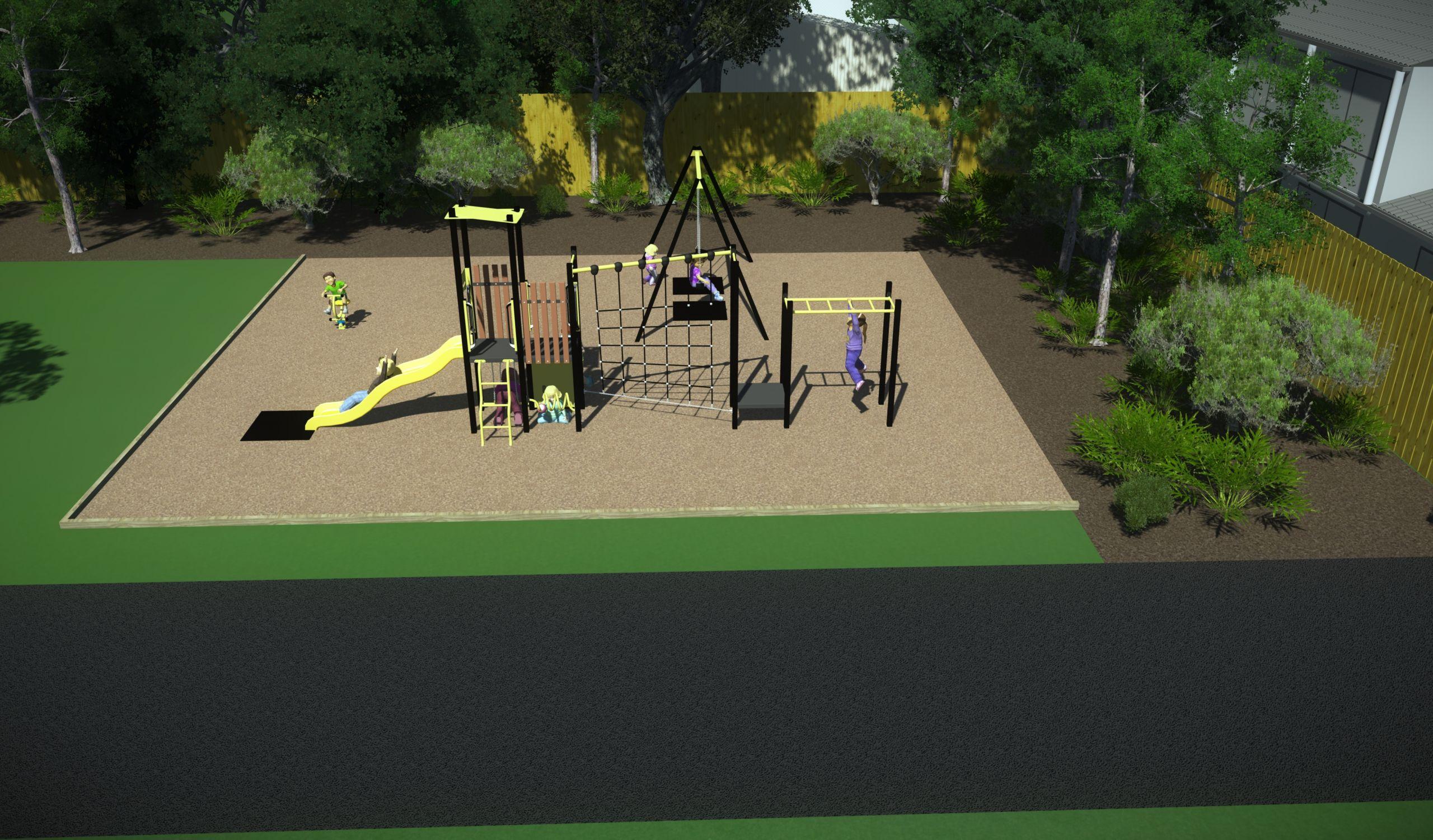 Buckingham Reserve Proposed Playground Design