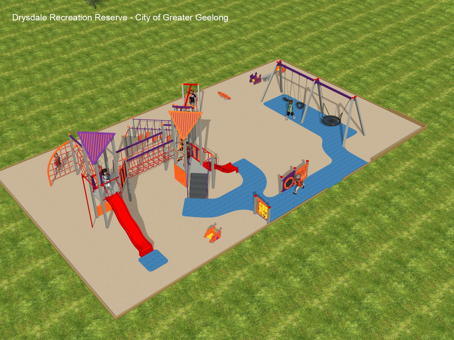Drysdale Reserve - proposed playground design
