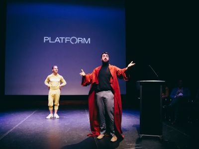 The Bloomshed in Platform Performance Space
