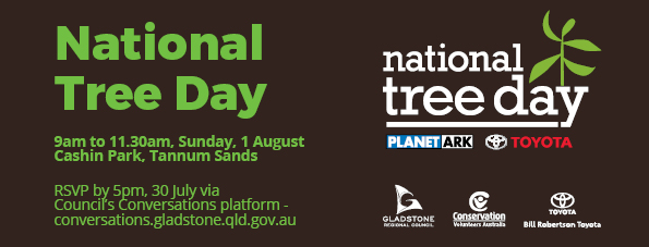 National Tree Day 2021 - 1 August RSVP on the project page