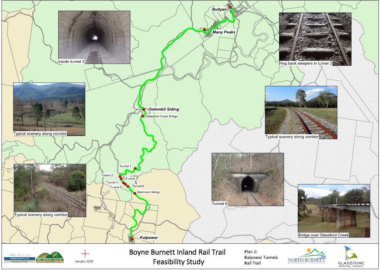 Kalpower Tunnels Rail Trail