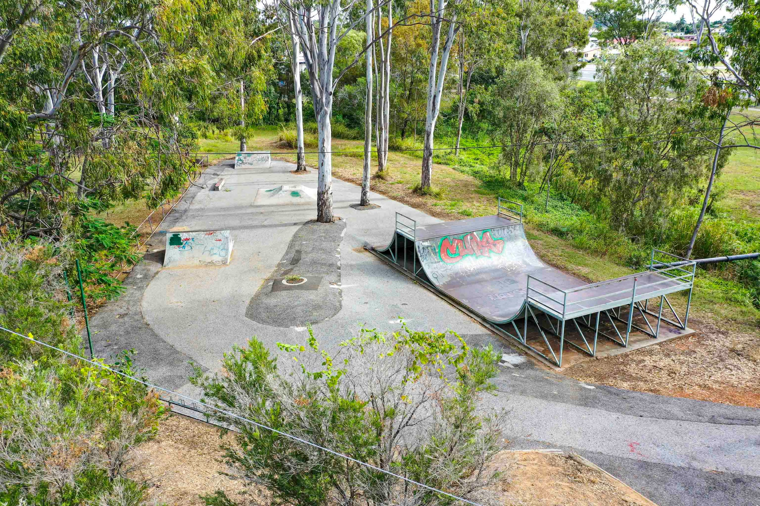 Picture of Cassy Lives Skate Park as it stands today