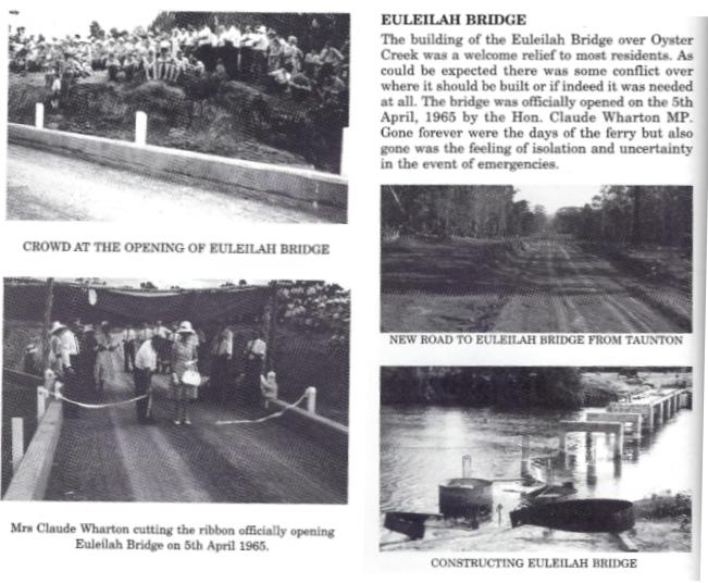 Opening of the Euleilah Bridge in 1965