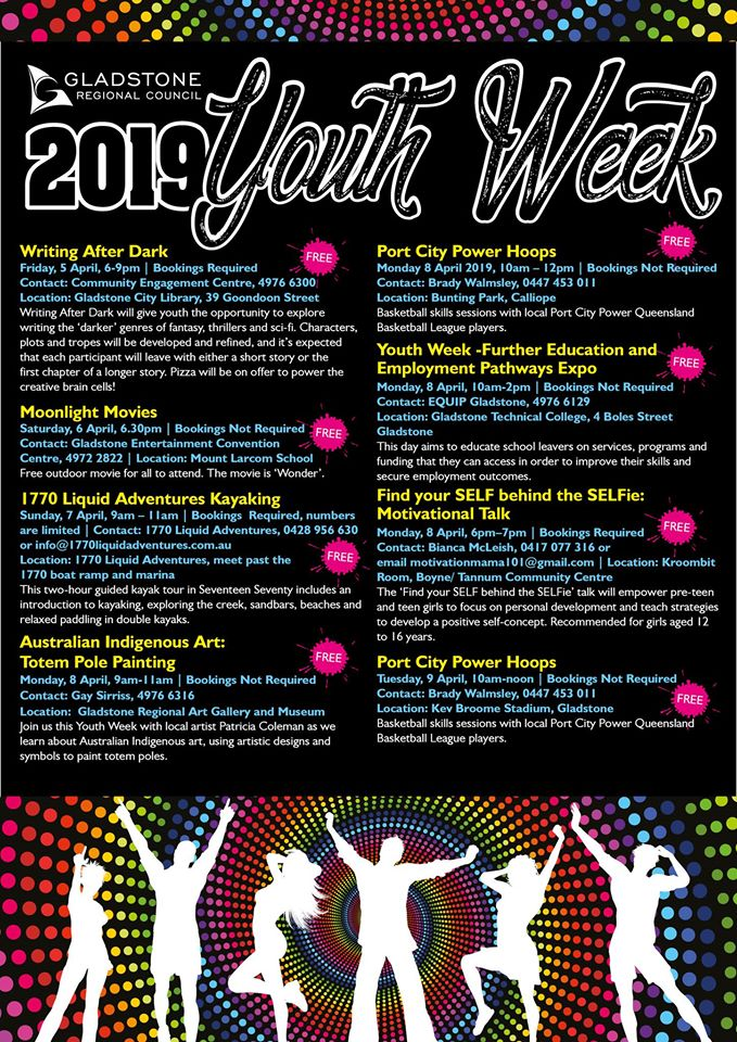Youth Week Flyer 2019
