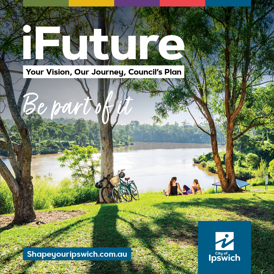 iFuture Be a part of it park and river scene
