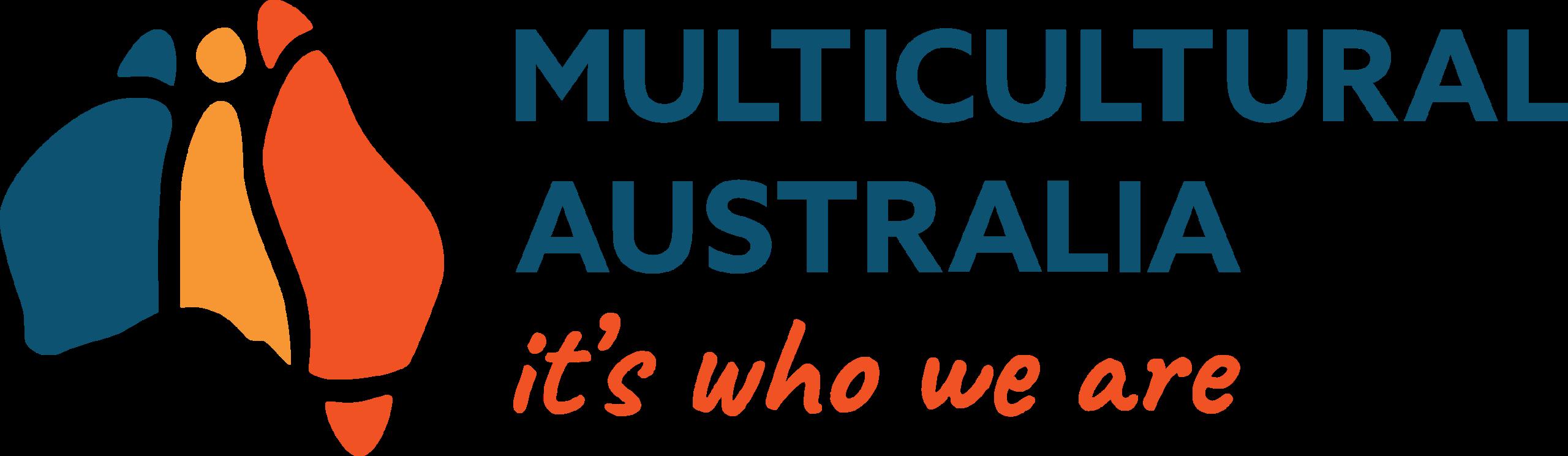 Logo showing map of Australia