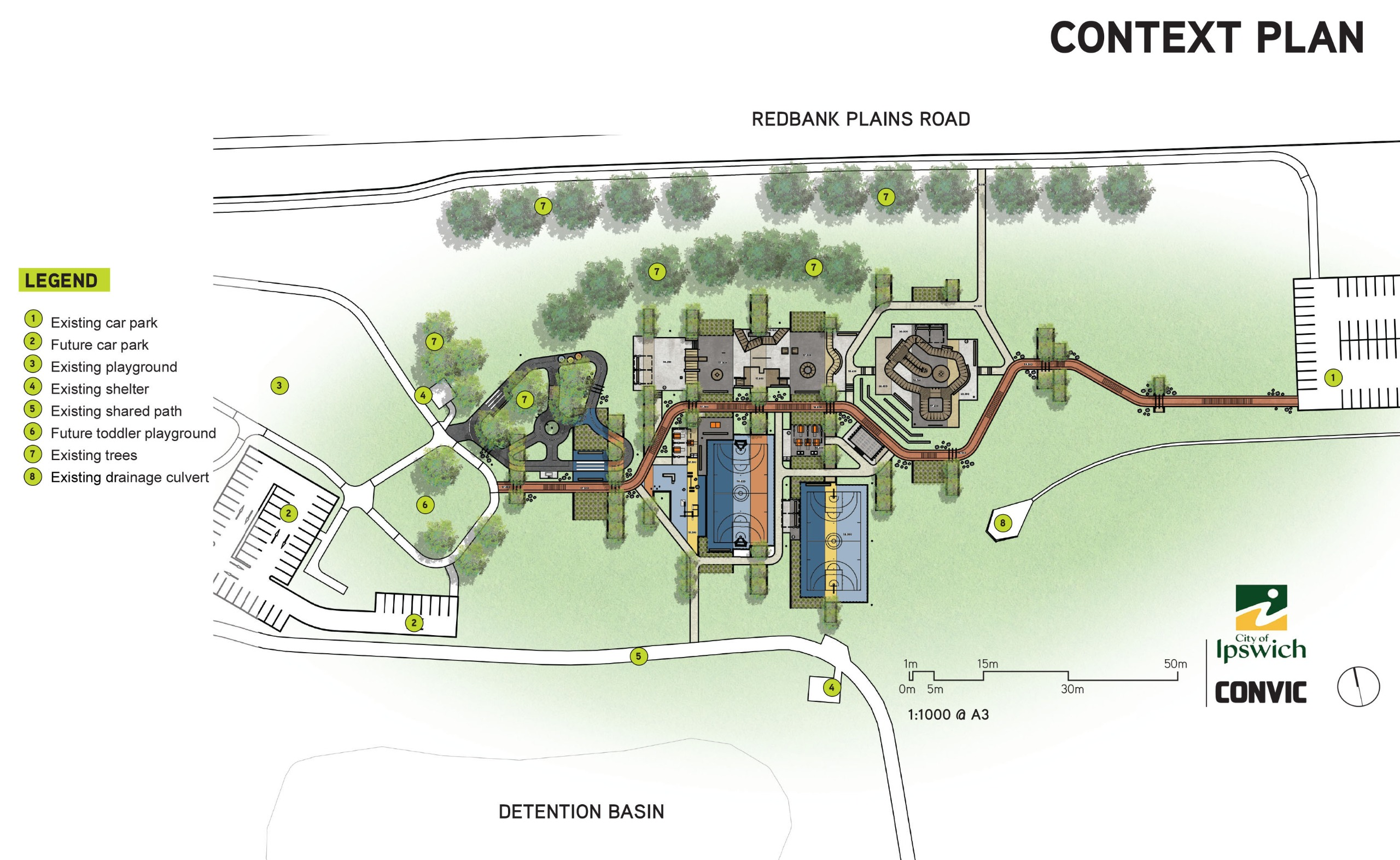Overall plan of design concept including proposed future works