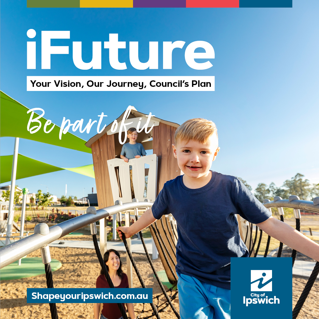 iFuture image of a child in the outdoor playground