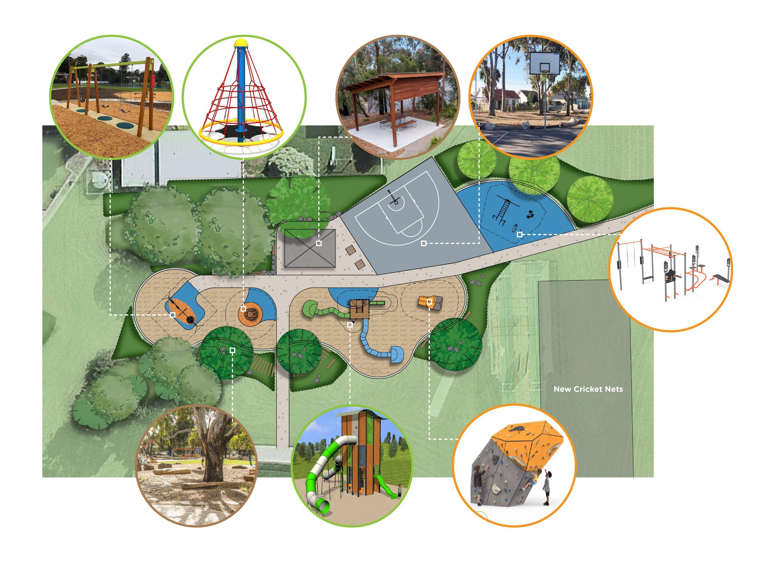Proposed Carrington Playspace Design Plan