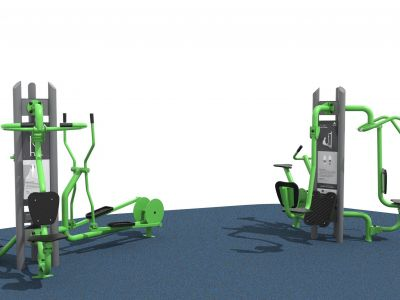 Mixed Fitness Station
