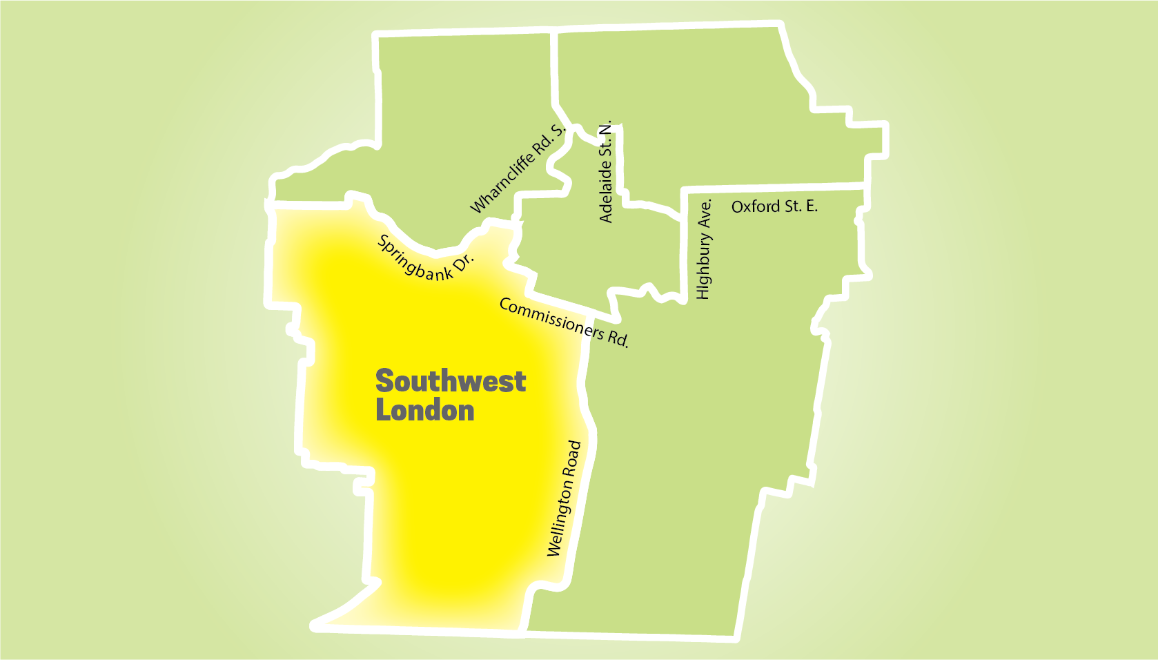Image of London featuring Southwest London.
