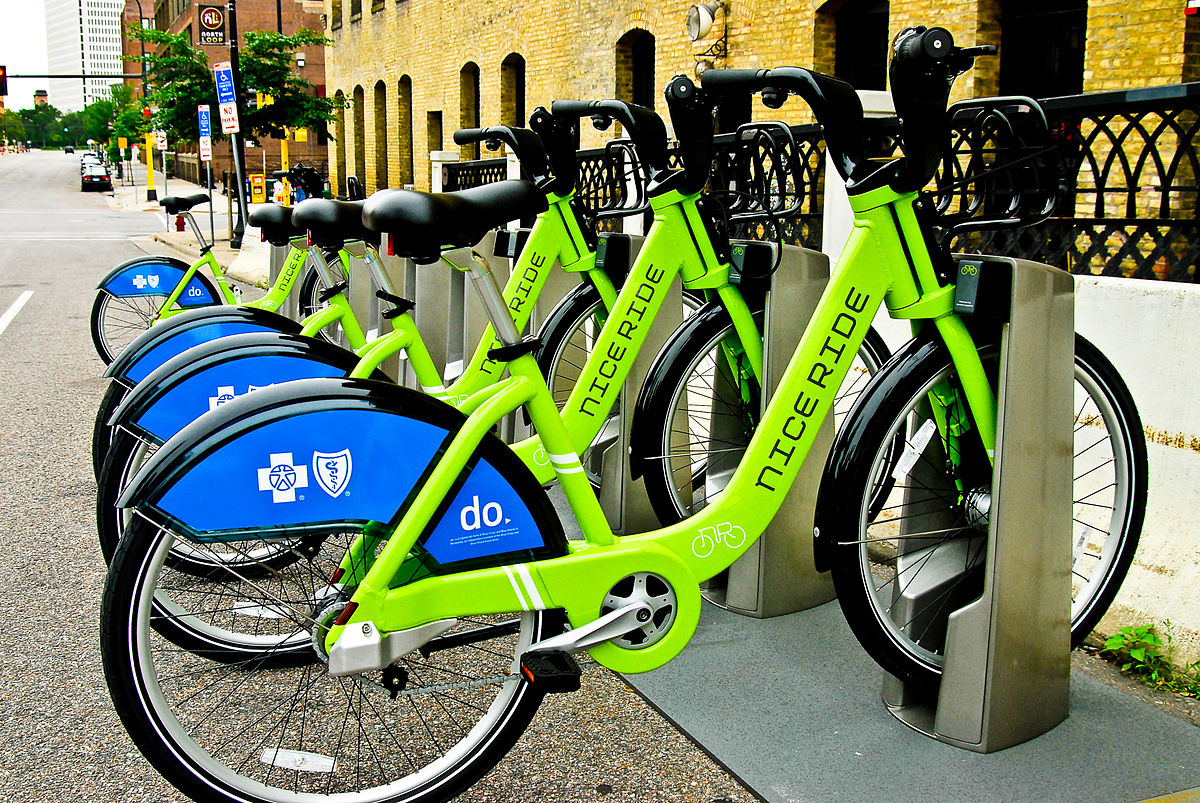 Minneapolis Minnesota bike share