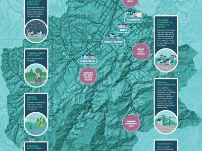 Waahi map of Waimea region