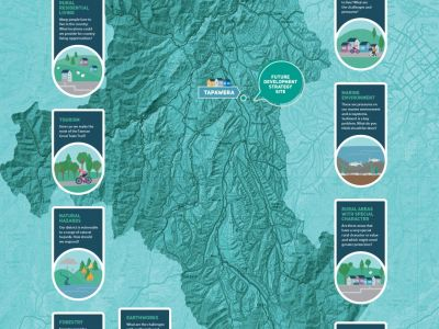 Waahi map of Motueka region