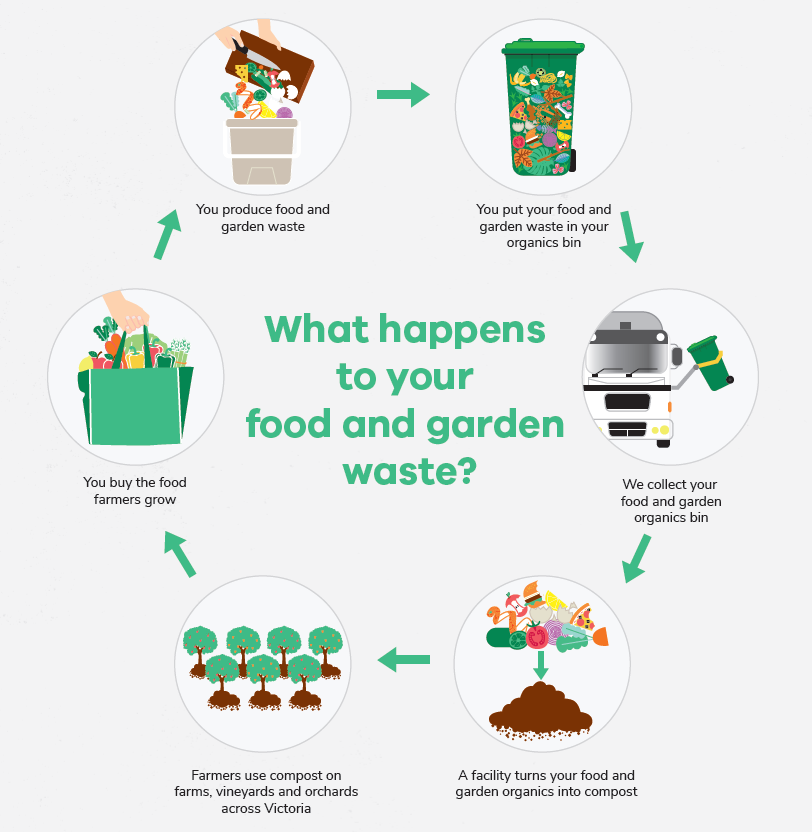 What happens to your food and garden waste?