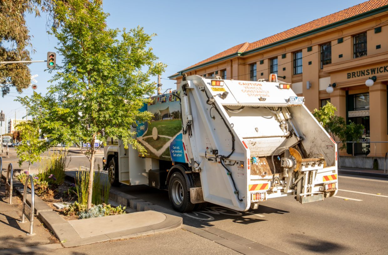 Moreland City Council Garbage Truck