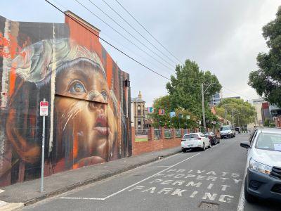 Saxon Street - Looking North