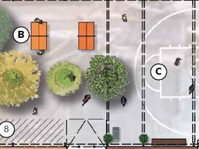 Frith Street plan Area B + C