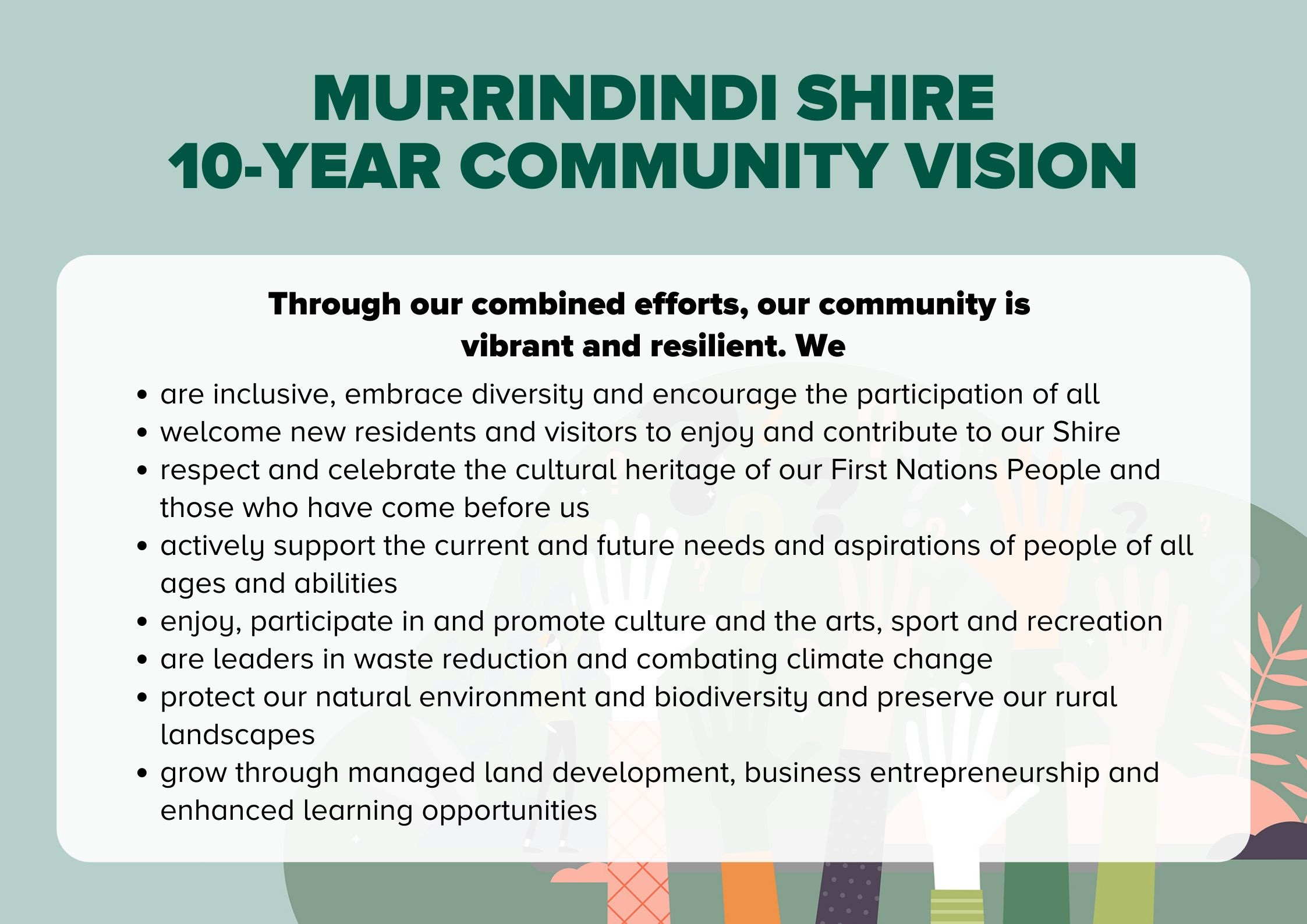 Adopted Community Vision