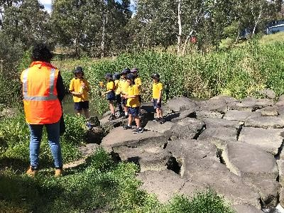 Strathmore North Primary School Litter Trackers in action!