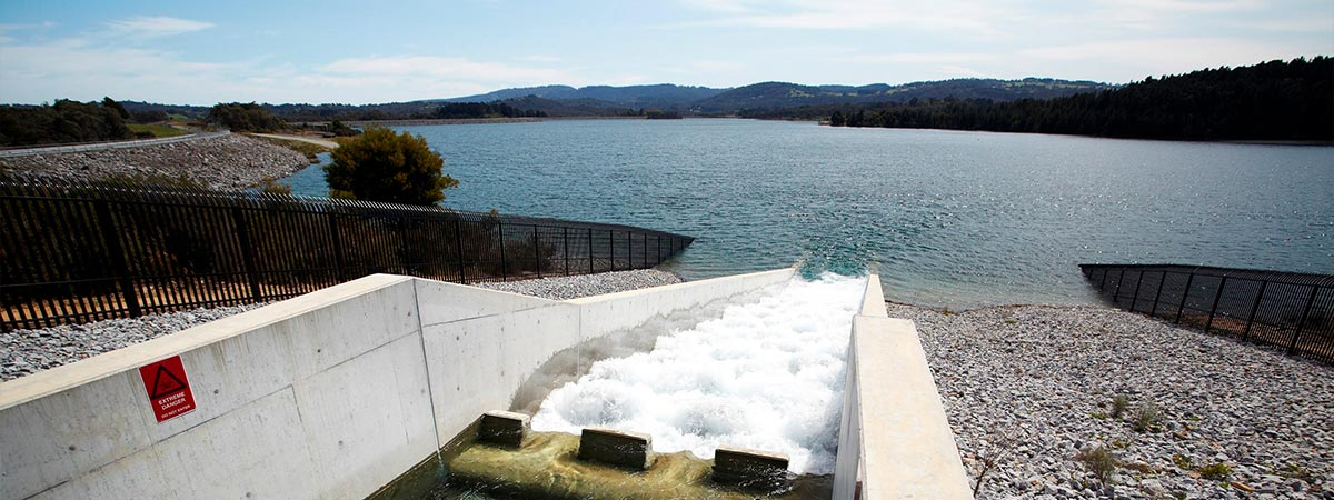 Desalinated water enters Cardinia Reservoir