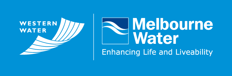 logo for Melbourne Water and Western Water