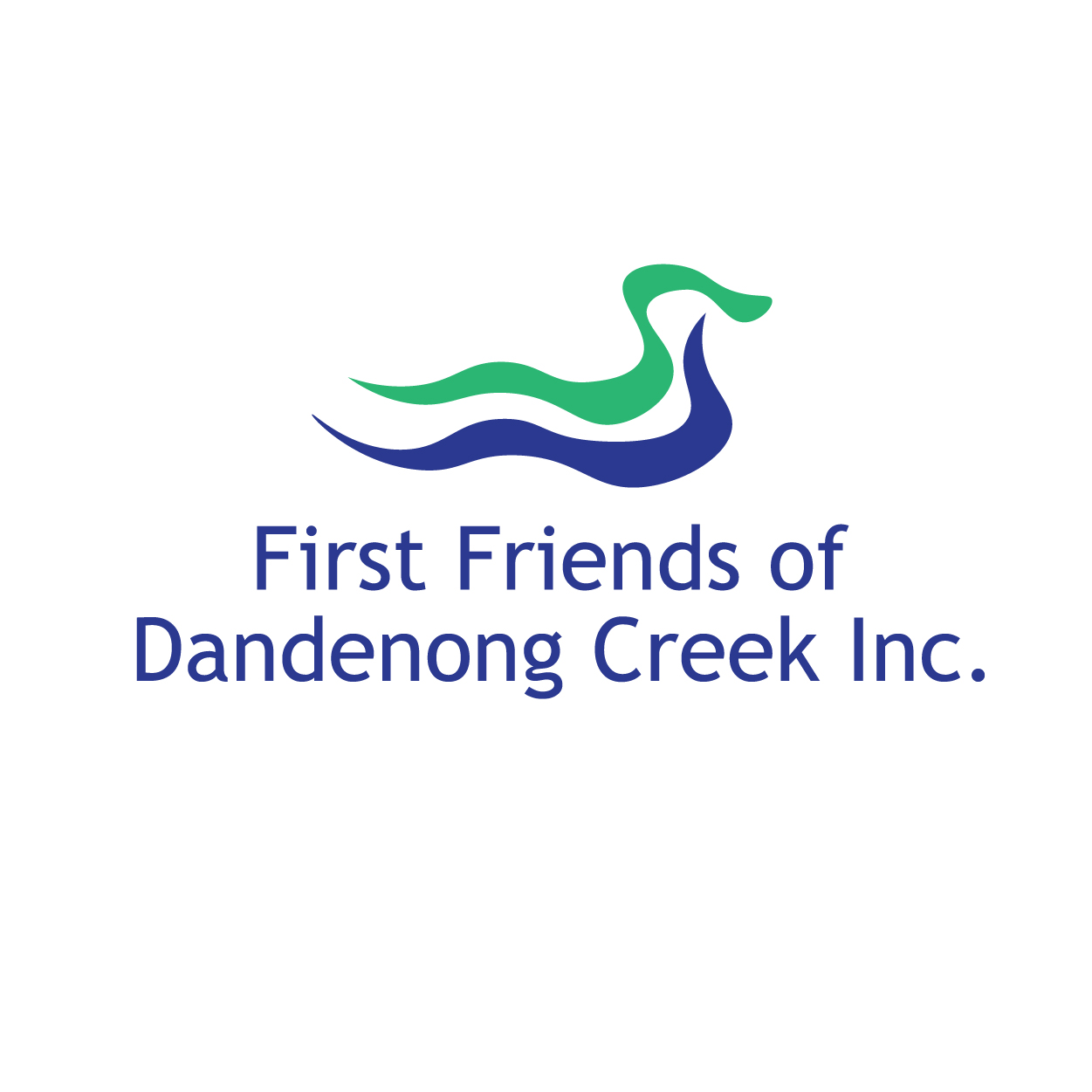First Friends of Dandenong Creek community group logo